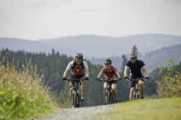 Mountainbiken in der Ferienregion Oberhof
